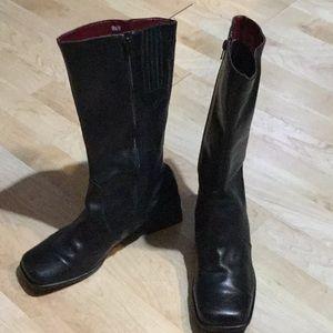 Azaleia Leather Boots